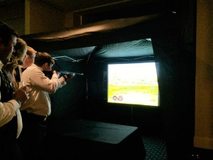 indoor laser shooting game hire berkshire